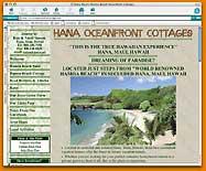 Hana Ocean Front Cottages Rentals