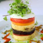 Grilled Polenta Stack